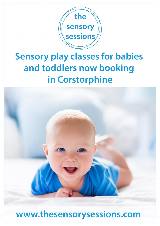 Baby sensory class corstorphine