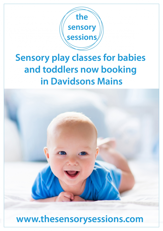 baby sensory class davidsons mains