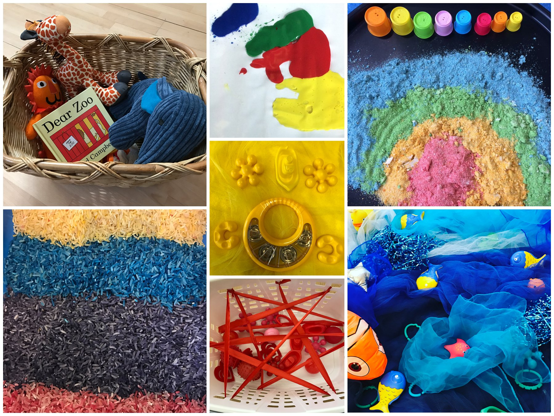 The sensory sessions sensory play classes Edinburgh