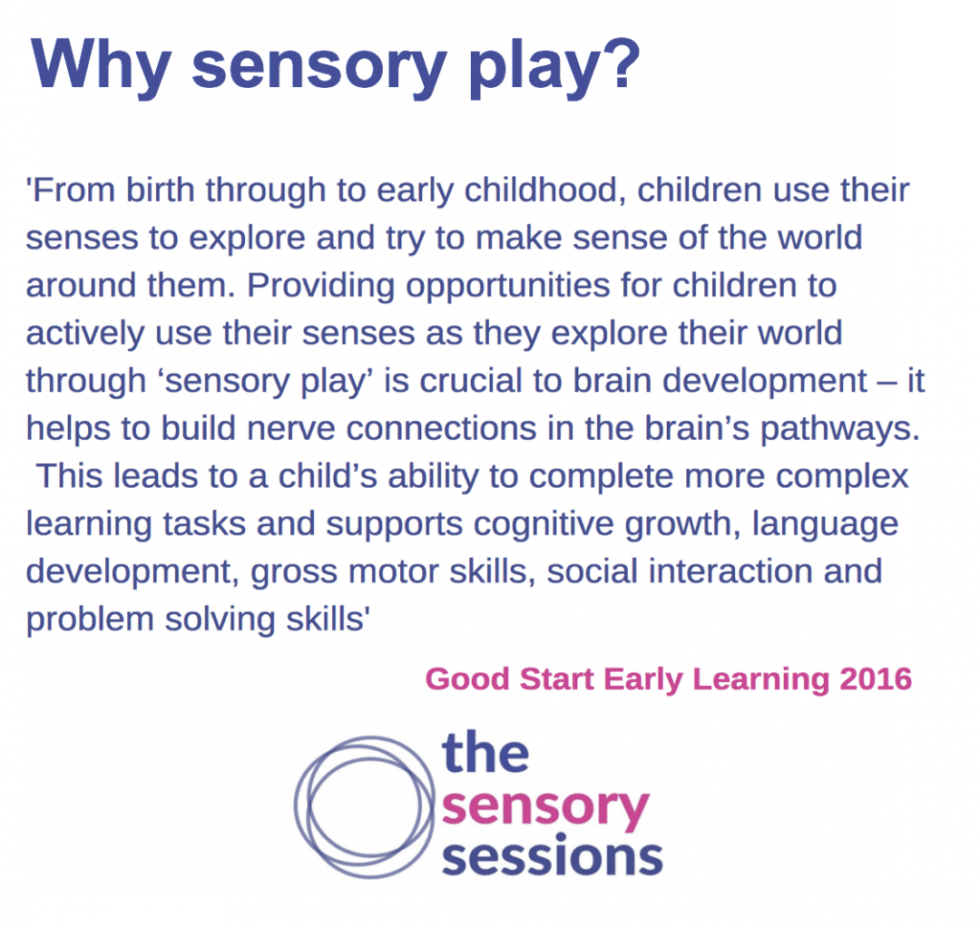 sensory play Edinburgh