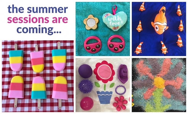 summer sessions sensory play