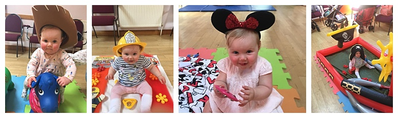 Isabella at sensory sessions baby classes