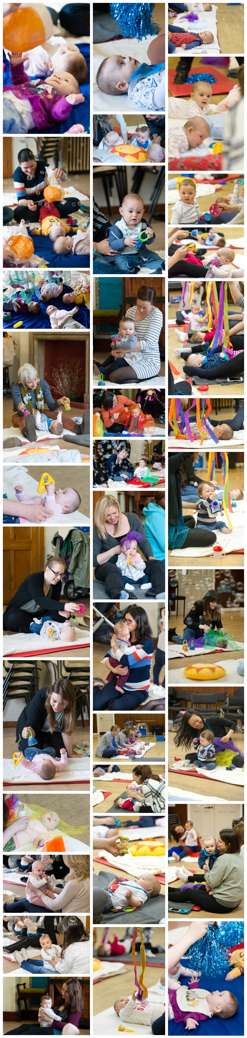 class photos from sensory sessions edinburgh