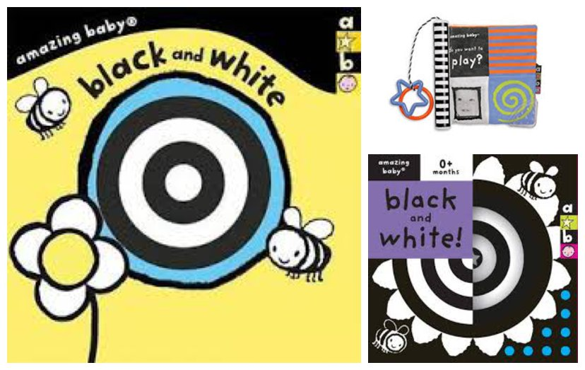 Black & White Resources for playing with your baby