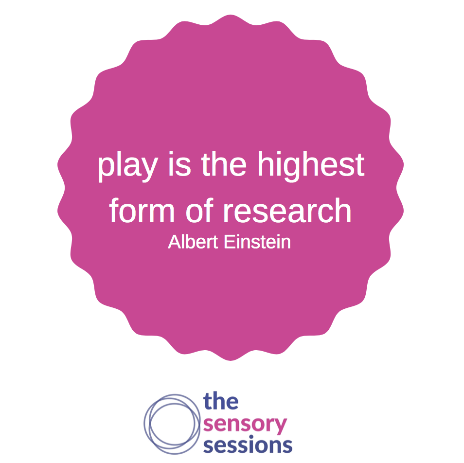 quote - play is the highest form of research