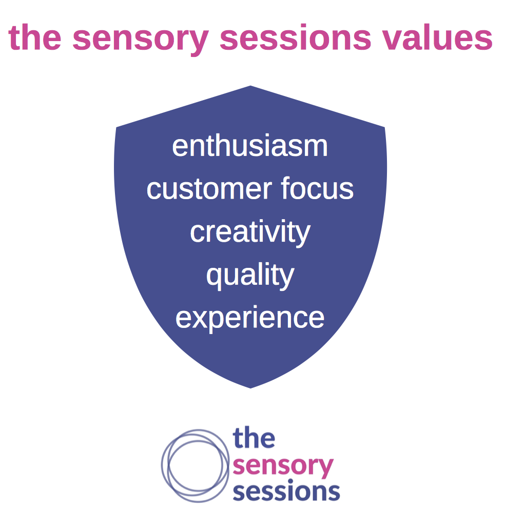 the sensory sessions values