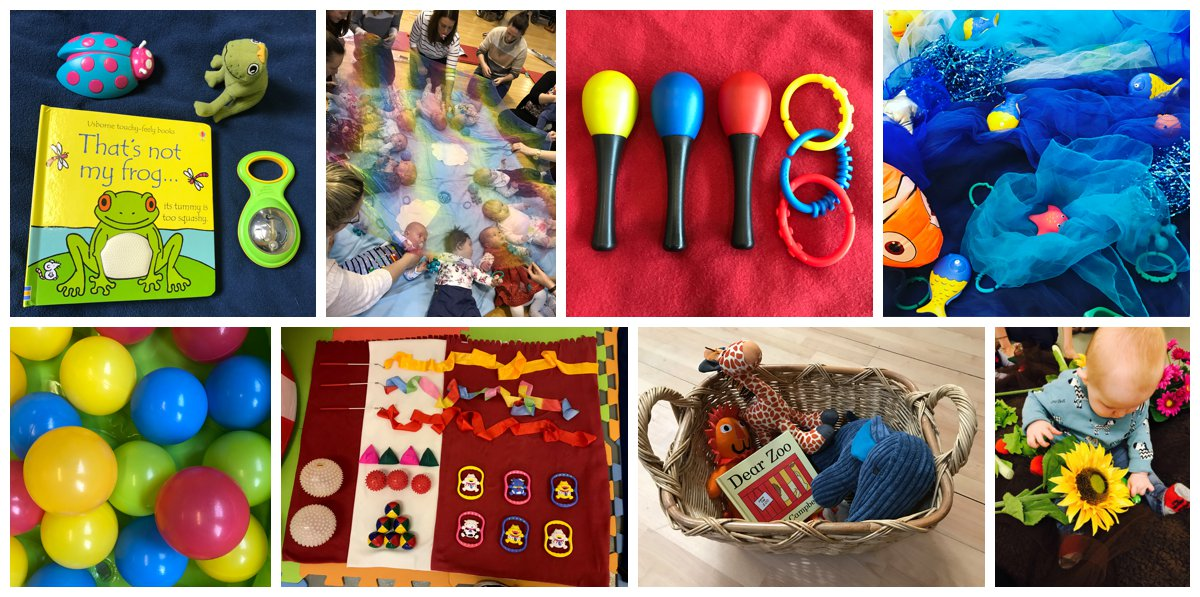 the sensory sessions sensory play class for babies in Edinburgh