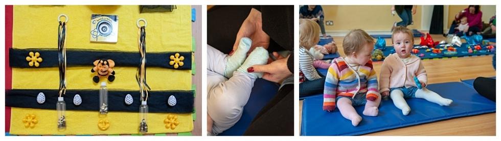 Baby Class Morningside sensory play