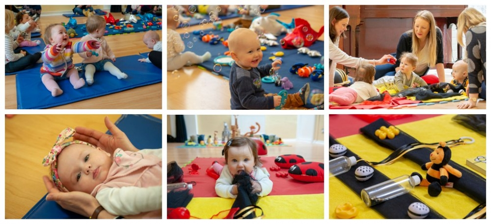 sensory development classes for babies in edinburgh, Lothians and fife