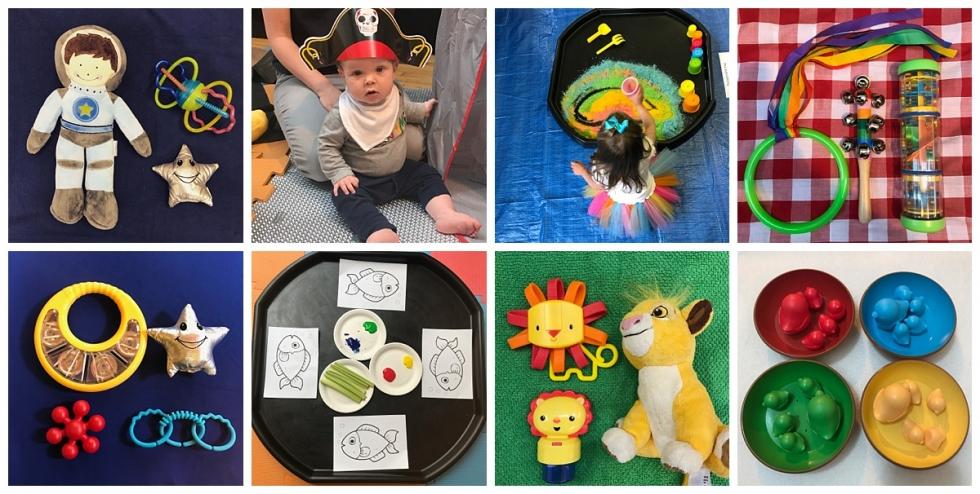 sensory development in babies