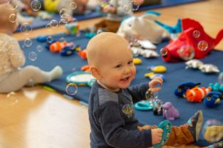 sensory play is great for babies, the sensory sessions edinburgh