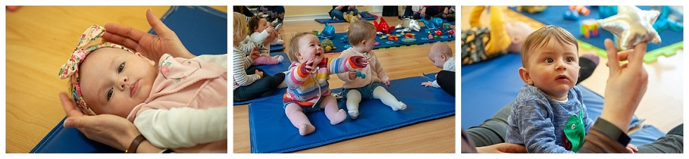 sensory baby groups in currie and balerno