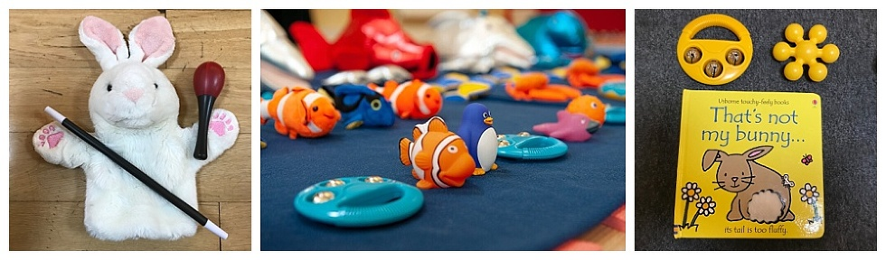The Sensory Sessions baby class in Fife