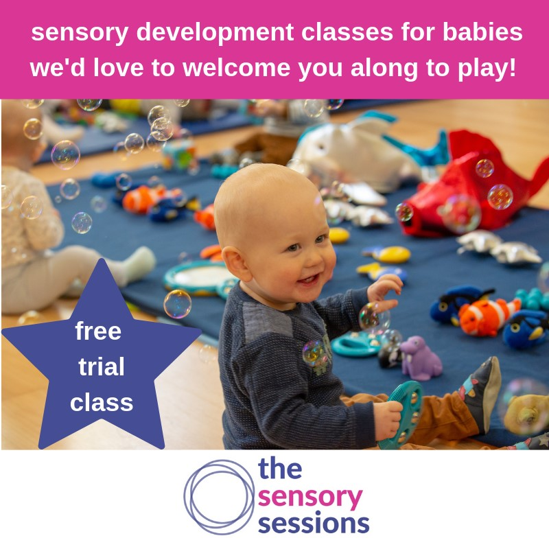 Complimentary trial class with The Sensory Sessions