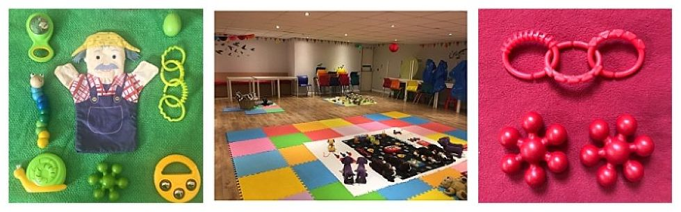 The Sensory Sessions baby class in Musselburgh